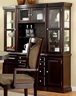 247SHOPATHOME Idf 3418HB China Cabinets, Brown