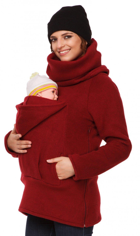 f2a58385d Mujer sudadera portador de bebé delantera espalda forro polar. 030p  carrierhood 030