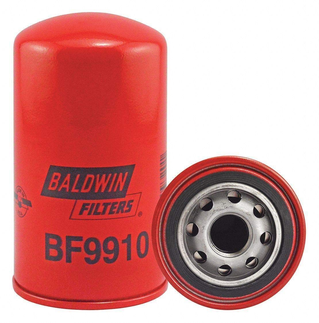 Cartridge 4-1//2in. L Baldwin BF9910 Heavy Duty Fuel Filter