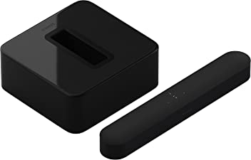 Sonos 3.1 Entertainment Set - Home Theater System with all-new Beam and Sub. Compact Smart TV Sound bar with Amazon Alexa voice control built-in. Wireless Sound System and Music Streaming for your home. (Black)
