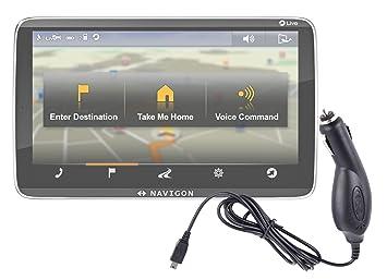 DURAGADGET Cargador De Coche De Conexión Miniusb para GPS ...