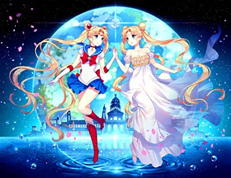 007 bishoujo senshi sailor moon crystal 31x24 inch silk poster aka wallpaper wall decor by neuhorris