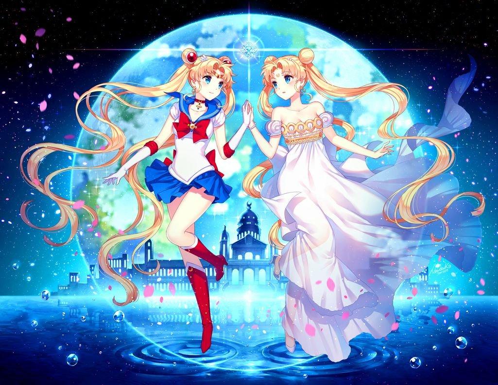 007 Bishoujo Senshi Sailor Moon Crystal 31x24 inch Silk Poster Aka Wallpaper Wall Decor By NeuHorris
