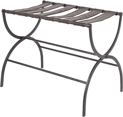 Silverwood/Julian Metal Folding Luggage Rack with Contour Legs