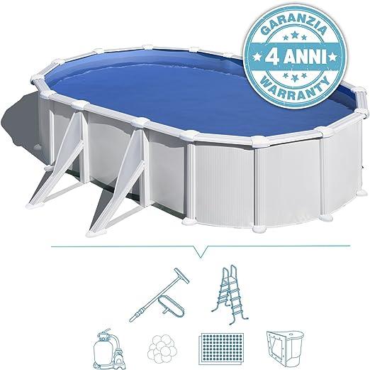 San Marco Piscina Fuoriterra Ovale Atlantide 500x300 Filtro 6m3 H Modello Top 500x300x120 Amazon It Giardino E Giardinaggio