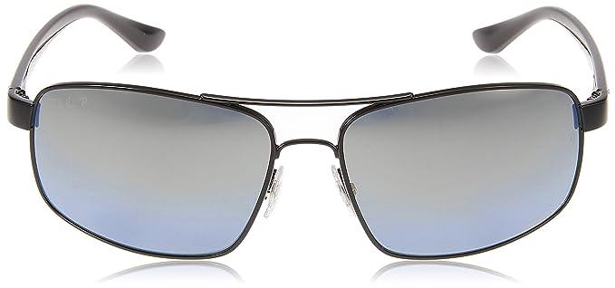 Ray-Ban 0RB3604CH Gafas de sol, Black, 62 para Hombre: Amazon.es ...