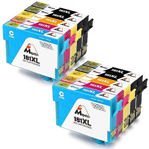 13 opinioni per Mipelo 12 Pack Compatibili Epson 18XL