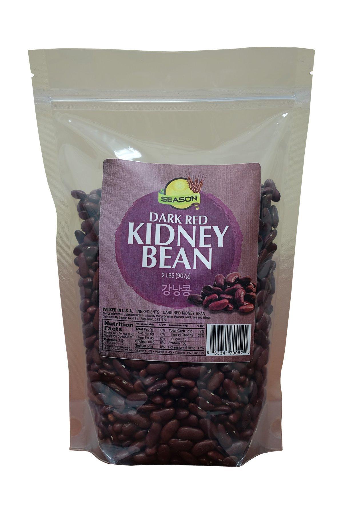Season Dark Red Kidney Bean, 2-Pound