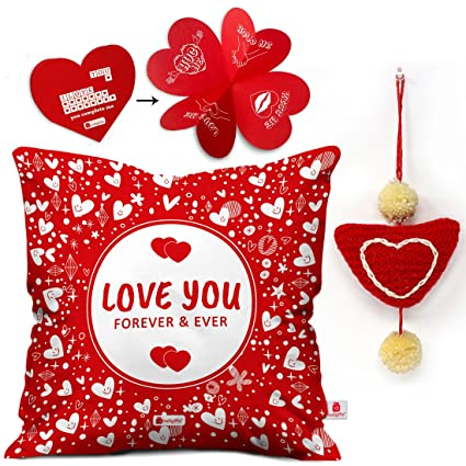 Valentines Day Gifts Love You Quote Hearts Illustration Image