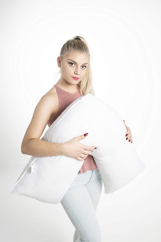 Textile Passion Back Neck Nursing Support Orthopedic Pregnancy Filled V Shaped Pillow Maternity