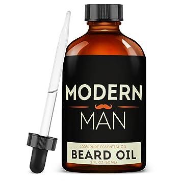 Aceite Para La Barba Natural Y Organico - Aceite Para Hacer Crecer La Barba Y El Vello Facial Mas...