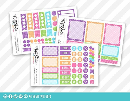 Amazon.com: Easter Spring Weekly Planning Stickers | Planner ...