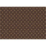 A4 icing sheet cake toppers handbag - Brown wallpaper designer look