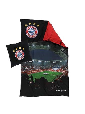 Fc Bayern München Bettwäsche Allianz Arena Wendebettwäsche 135x200