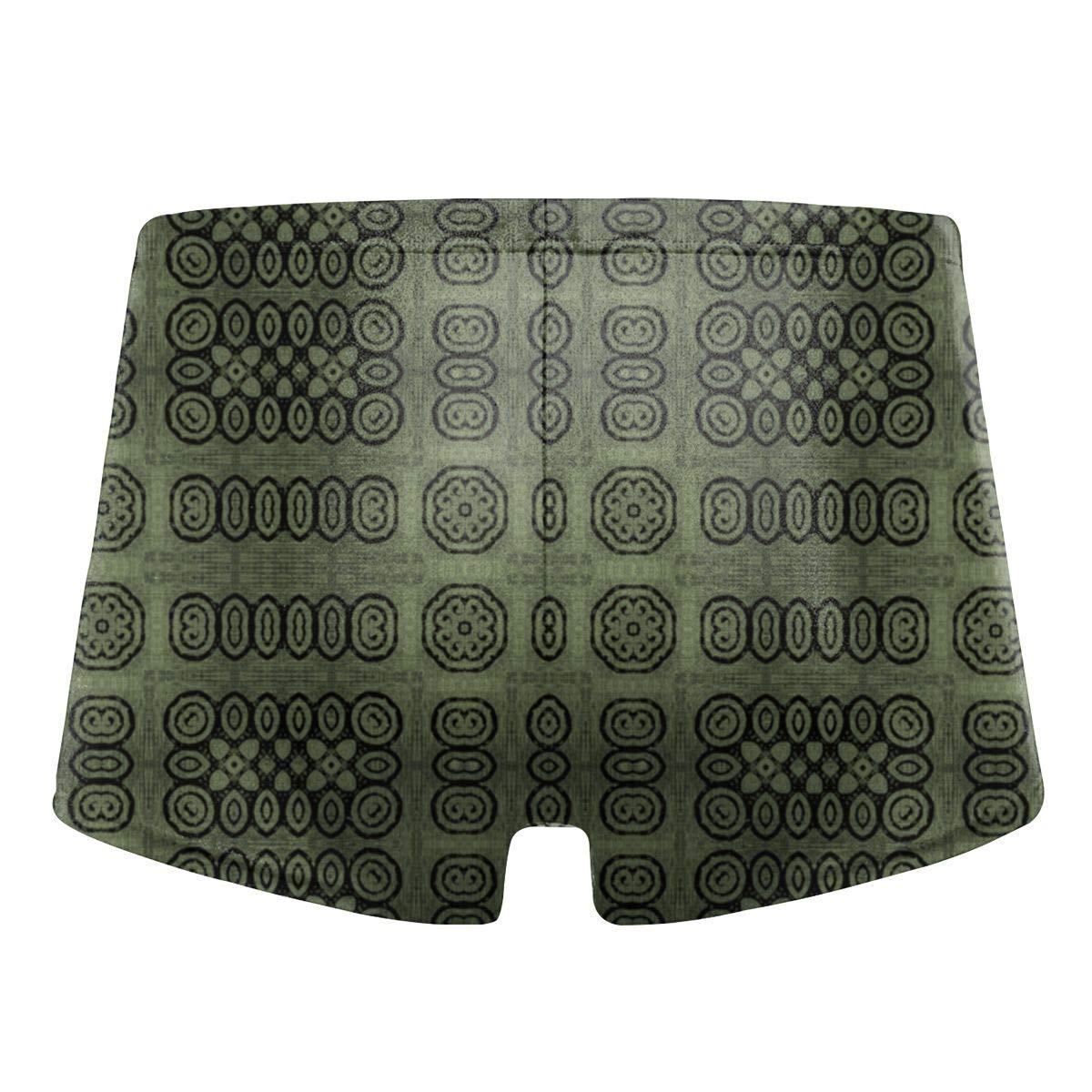 Mens Swim Trunks Shorts Athletic Swimwear Briefs Boardshorts 8359 349tg1u Ikat Sage Primitive Print Wallpaper
