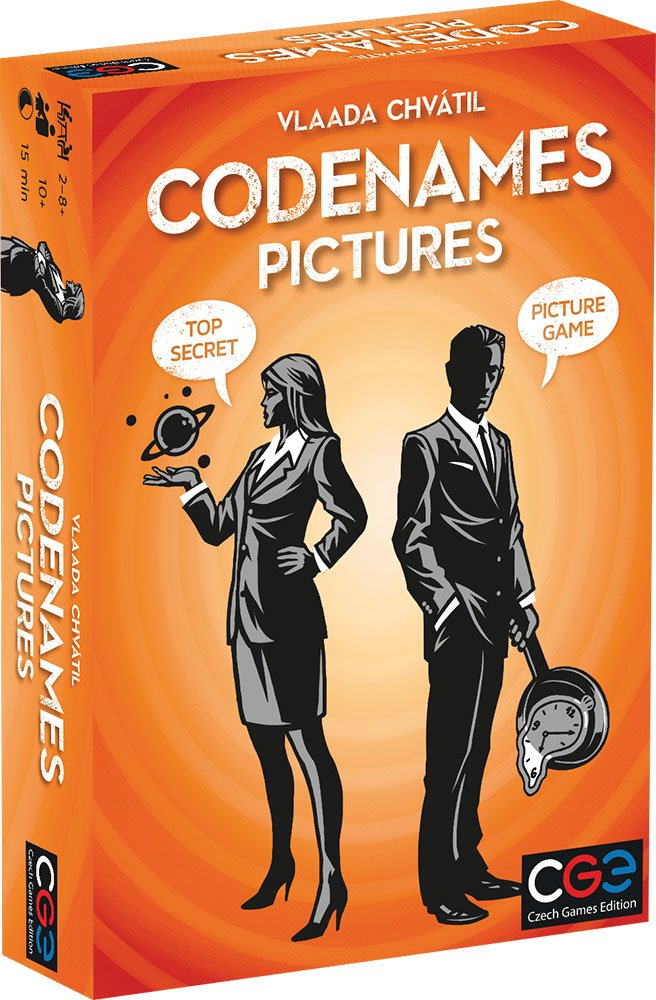 Czech Games CGE00036 Codenames Pictures Card Game 00036CGE