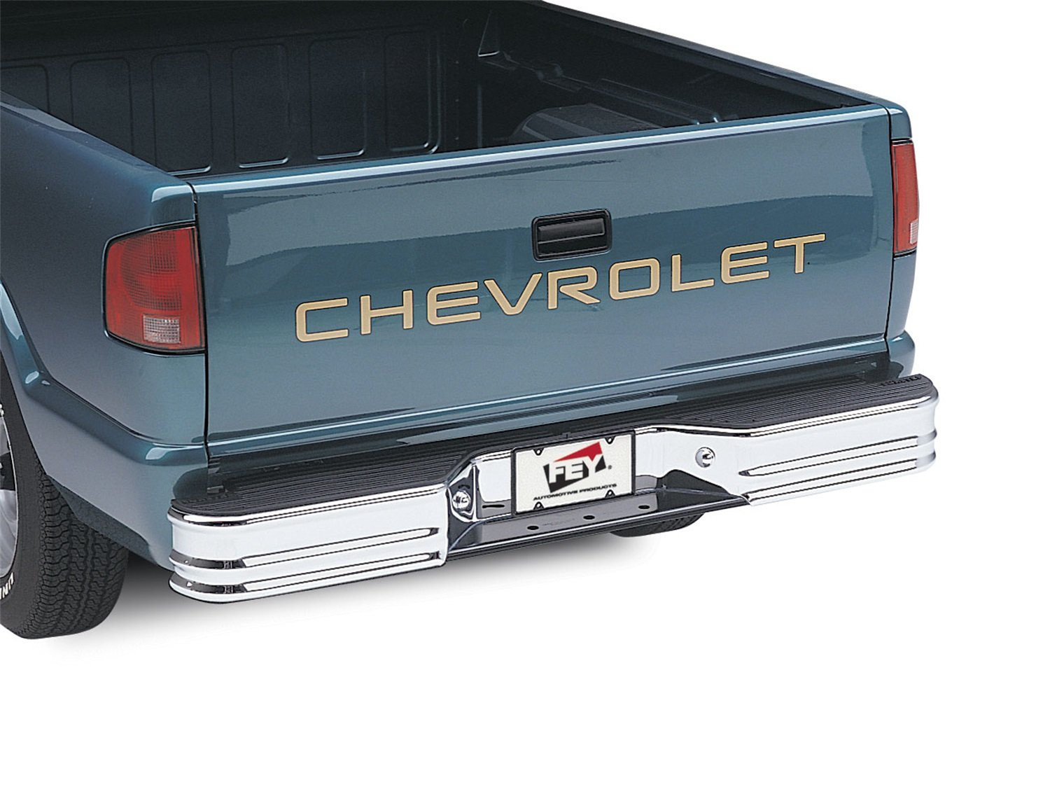 Requires Fey vehicle specific mounting kit sold separately Fey 21003 SureStep Universal Black Replacement Rear Bumper