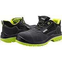 Bellota 7231038S1P Zapato de seguridad, Negro, Verde, 38
