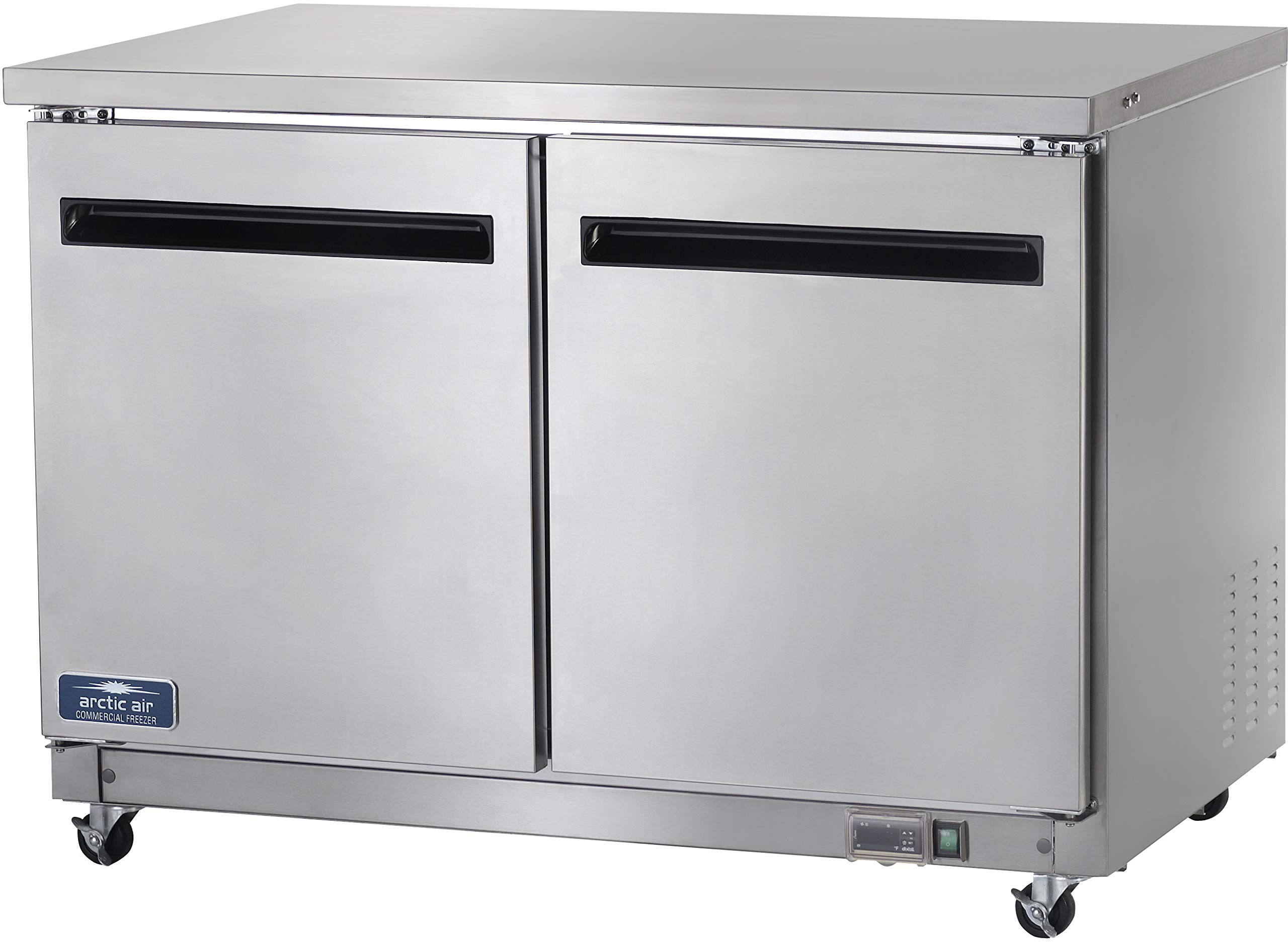Arctic Air AUC48R 48'' Undercounter Refrigerator - 12 cu. ft, Stainless Steel by Arctic Air