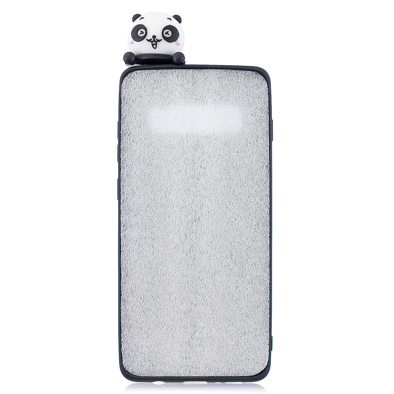 86421758677 Utensilios de limpieza Perro Rosa HopMore EU HopMore Funda para Samsung  Galaxy S10 Plus Silicona Dibujo 3D Divertidas Panda ...