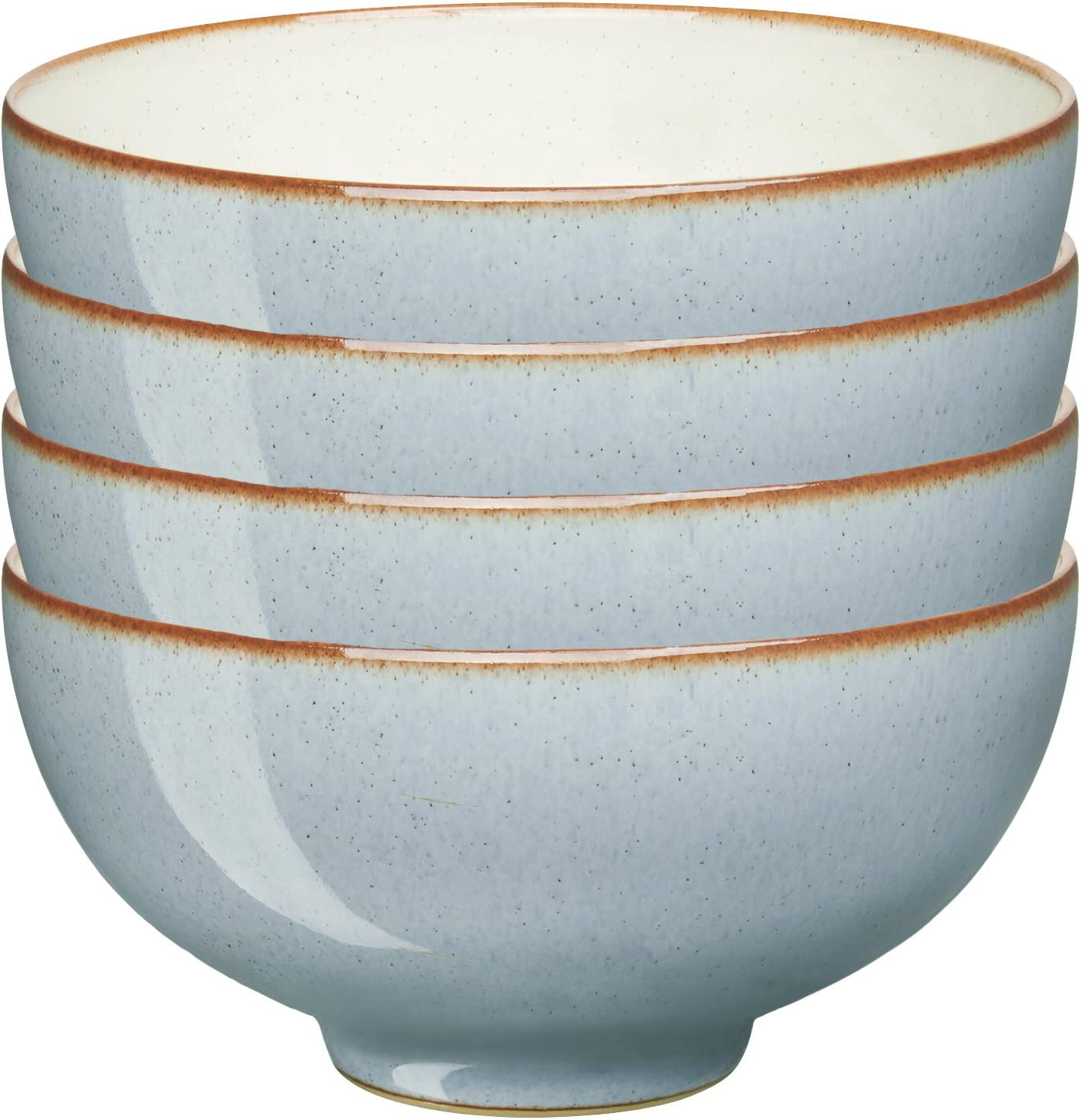 Denby USA Heritage Terrace Rice 4 Bowls Multicolor Set of New Orleans Mall Austin Mall