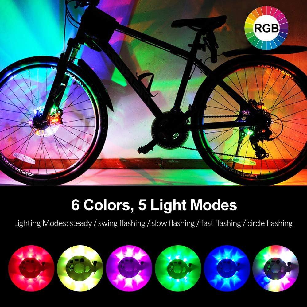 LED Bike Wheel Hub Light