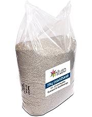 25 kg filtro Arena 0.4 – 0.8 mm pool filtro de arena de cuarzo para filtro