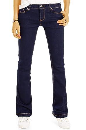 Bestyledberlin Boot Damen Jeans Klassische Indigo Cut Flare Pants 1JFlTKc