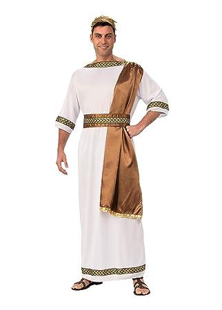 Bristol Novelty ac734 Disfraz de Dios Griego con Banda, marrón, 44 Pulgadas