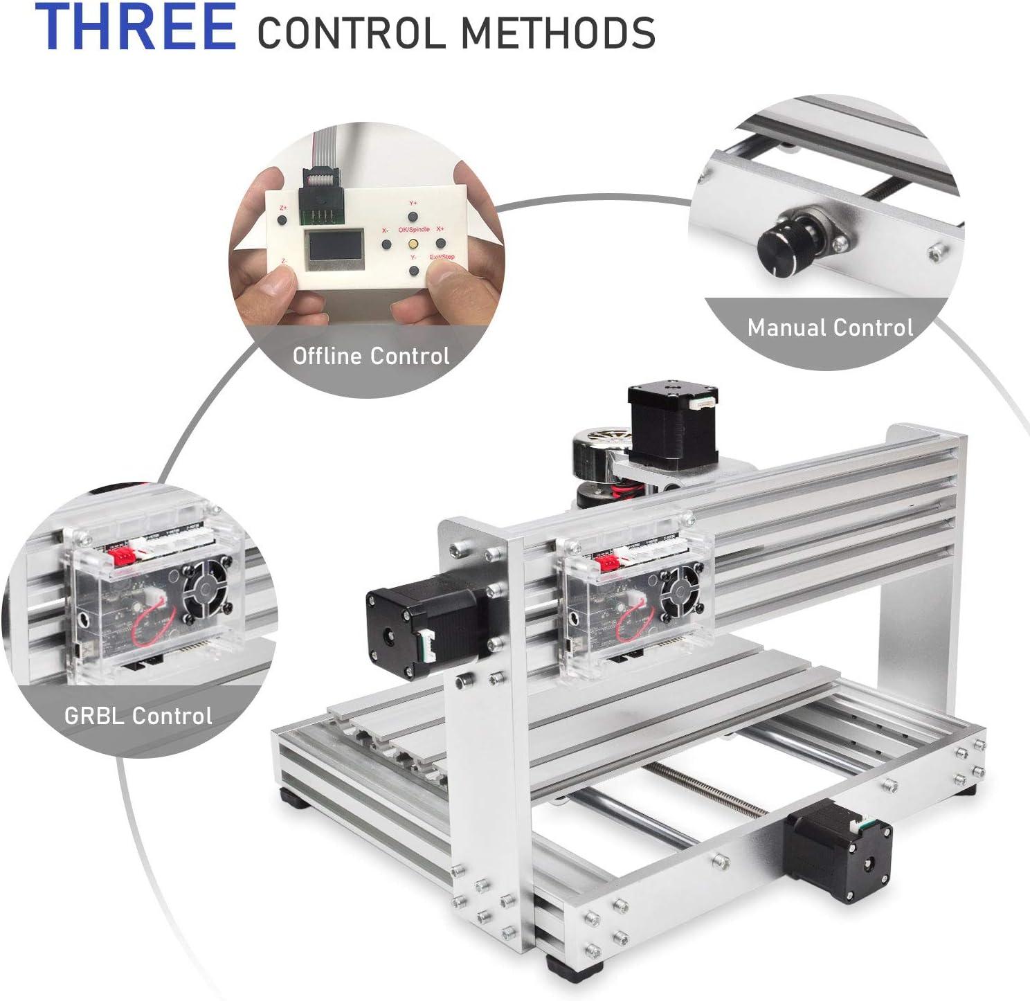3018-Max DAEDALUS CNC 3018-Max Machine 3 Axis GRBL Control with ...