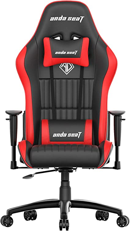 Anda Seat Jungle Series Gaming Chair Red Polyurethane Ultimate Office Chair With Armrests Lumbar Back Support Desk Chair Ergonomic Backrest Seat And Arm Height Adjustment Chairs Amazon De Kuche Haushalt