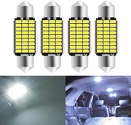 Color Temperature : 31mm 10pcs LED feston d/ôme 31mm 36mm 39mm 41mm C5W LED ampoules de voiture de voiture froid blanc lecture plaque dimmatriculation lampe led ampoule 12V ampoule ampoules led