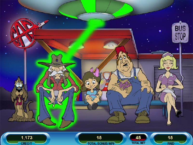 Little green men slot machine mit gambling team movie