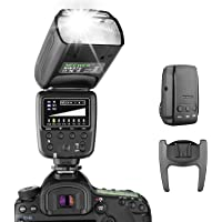 Neewer Flash Speedlite with 2.4G Wireless System and 15 Channel Transmitter for Canon Nikon Sony Panasonic Olympus…