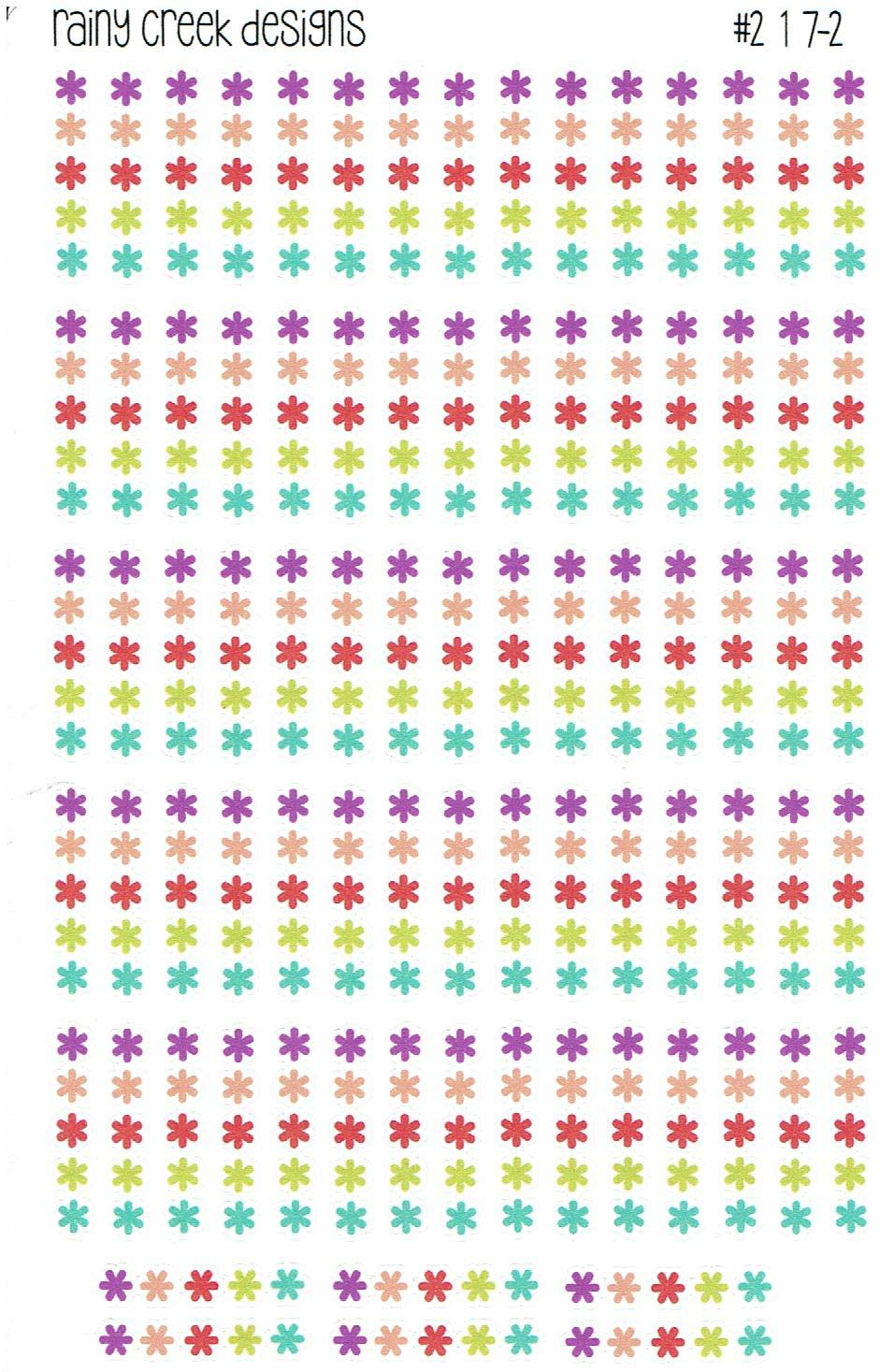 Plum Paper ME 7 x 9 Happy Planner and other planners #217 Plum Paper ME A5 Asterisk Checklist Planner Stickers for Erin Condren