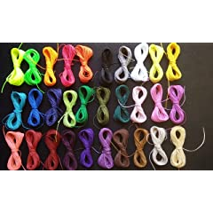 Cuerdas e hilos para abalorios