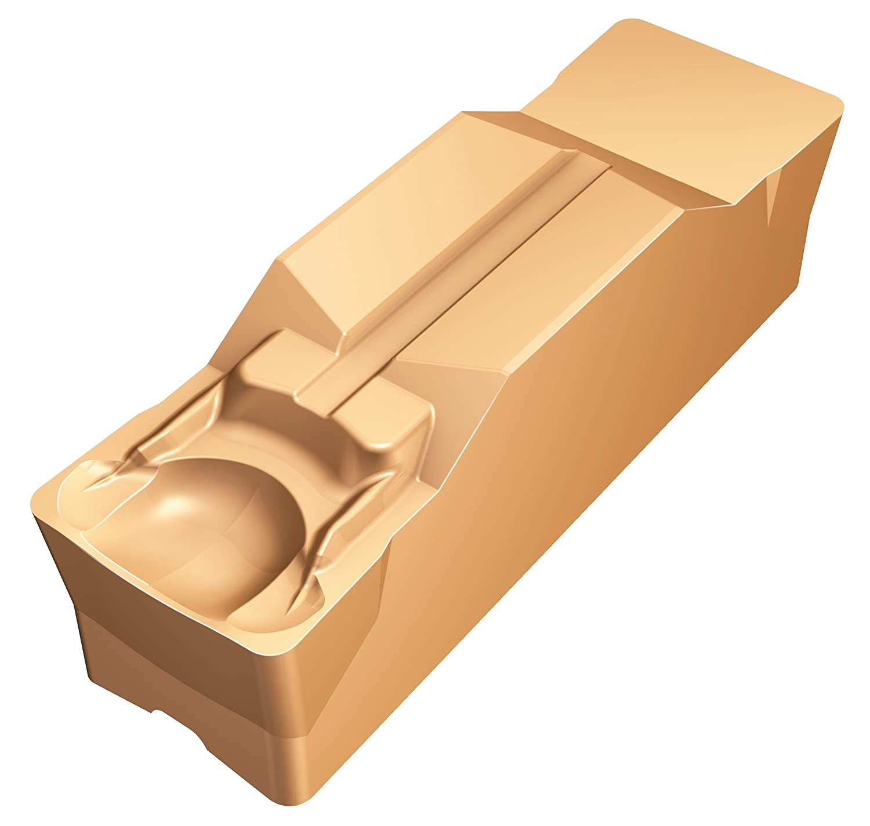 M Insert Seat Size Pack of 10 GM Geometry Neutral Cut 1 Cutting Edge N123M1-0900-0008-GM Multi-Layer Coating GC1125 Grade 0.0315 Corner Radius Sandvik Coromant CoroCut 1-Edge Carbide Grooving Insert 0.354 Cutting Width
