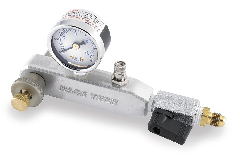 Race Tech Pro Shock Nitrogen Gauge 0-300 PSI Universal tr-772646