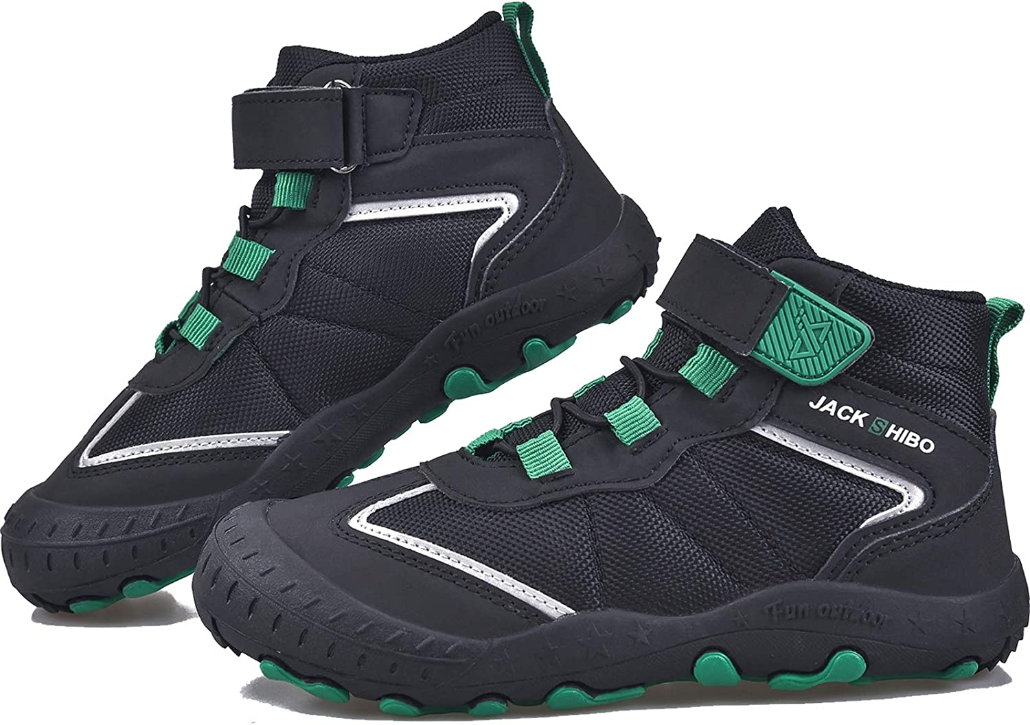 Amazon.com   MARITONY Kids Ankle Hiking Boots Boys Girls Water Resistant  Non Slip Hiking Shoes Lightweight Breathable Outdoor Walking Shoes for Hiking  Trekking Travel Climbing   Hiking Boots