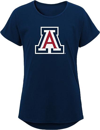 Youth Medium Dark Red 10-12 NCAA by Outerstuff NCAA Arizona Wildcats Youth Girls Fan-Tastic Short Sleeve Tee
