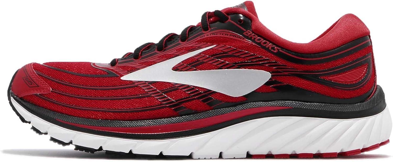 Brooks Glycerin 15, Zapatillas de Gimnasia para Hombre, Rojo (Lychee/Black/White), 41 EU: Amazon.es: Zapatos y complementos