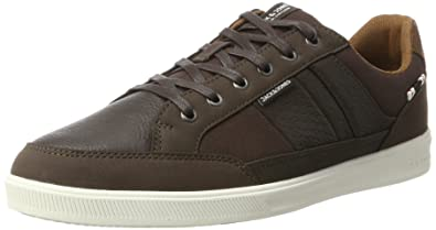 Mens Jfwrayne Pu Mix Java Low-Top Sneakers Jack & Jones k0rCTfqxgU