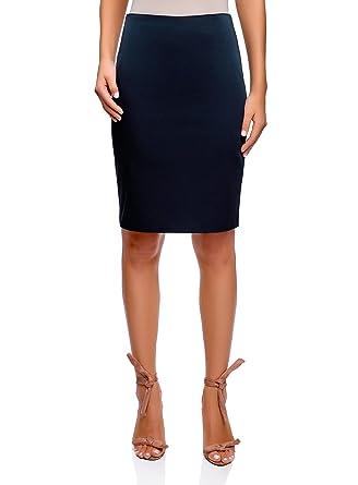 adf990104609 oodji Collection Femme Jupe Droite Basique  Amazon.fr  Vêtements et ...
