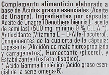 Hijas Del Sol Onagra - 450 Cápsulas Blandas: Amazon.es: Salud y cuidado personal