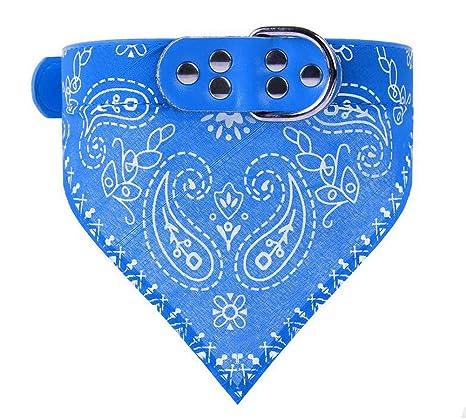 Ajustable perro de pañuelos bandana pañuelo de cuello de mascota gato para perros cachorro mascota collares