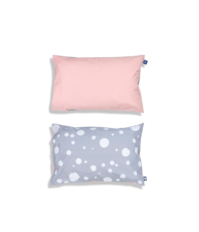 100% Organic Cotton Children's Pillowcase (Pink - Shoo) Moonsie