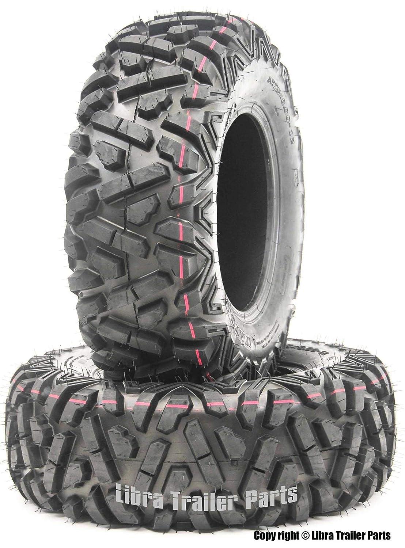 2 New WANDA  ATV Radial Tires AT 25x10R12 6PR//P350-10178