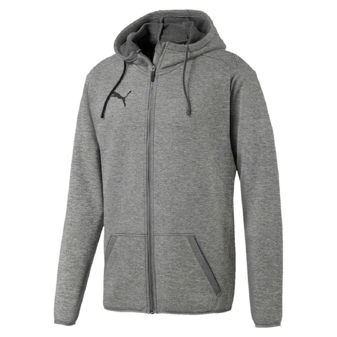 TALLA M. Puma Liga Casuals Hoody Jacket Sudadera, Hombre