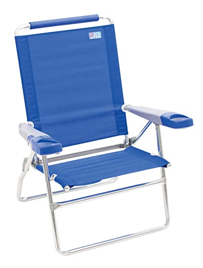 Amazon.com: Rio Beach - Silla de playa plegable, altura ...