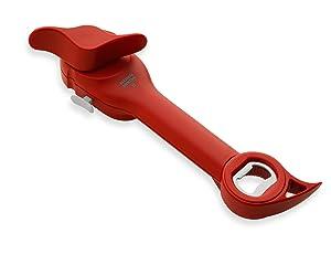 Kuhn Rikon Auto Safety Master Opener, Red